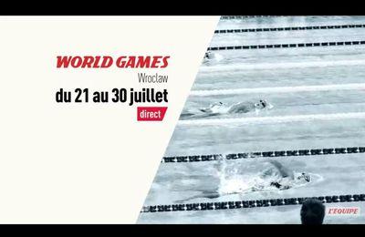 [Infos TV] Les 10 jours de World Games à suivre sur la chaîne l'Equipe !