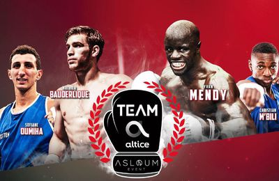 "[Infos TV] Soirée Boxe ""No Limit Team Altice"" ce jeudi sur SFR Sport 1 !"