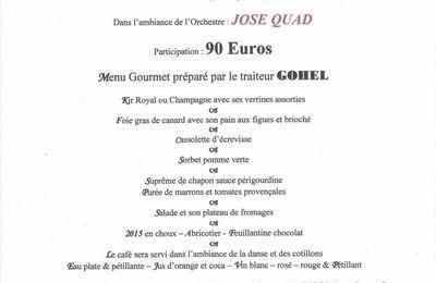 Réveillon du 31 décembre 2014 à Garennes