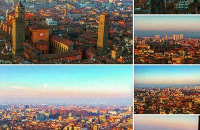 Bologna dall'alto ! Bologna dalla Torre Asinelli
