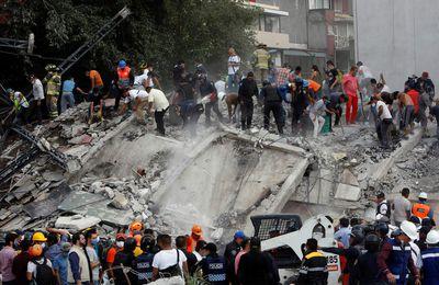 Un autre fort tremblement de terre frappe le Mexique