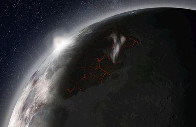 Il y a fort longtemps, la Lune aurait profité d'une atmosphère temporaire