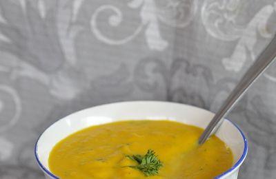 Velouté de carotte au curry (thermomix ou non)