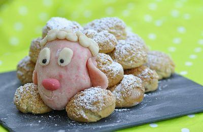 Petit mouton en pâte à choux (thermomix ou non)