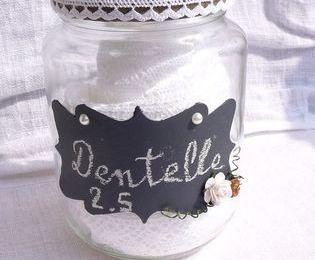 Idée de recyclage pour vos bocaux en verre