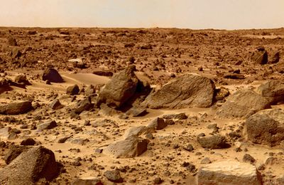 A journey on the red planet (video)