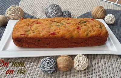 Cake aux poivrons et aux épices Tex-Mex