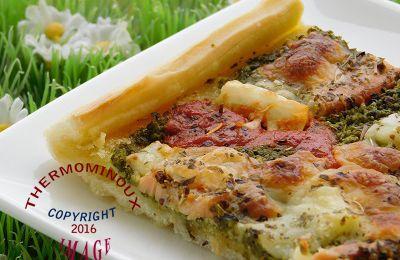 pizza aux 4 fromages thermomix blog cuisine thermomix avec recettes pour le tm5 tm31. Black Bedroom Furniture Sets. Home Design Ideas