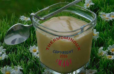 CREME AU SIROP D'ERABLE (thermomix)