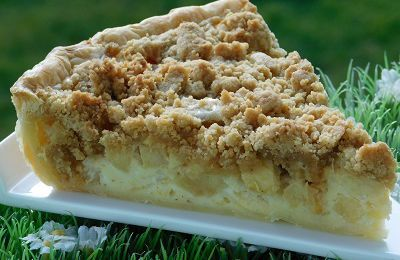 TARTE AUX POMMES CRUMBLE (thermomix)