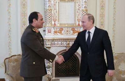 #Egypte / Dé-dollarisation poutinienne et Rafale plutôt qu'F16.... Si, si