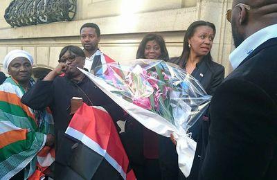 L'ambassadrice du #Kenya à Paris émue par le soutien des Ivoiriens