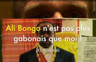 Ali Bongo n'est pas plus gabonais que moi !, par Grégory Protche (#Texte #Péan #Marianne)