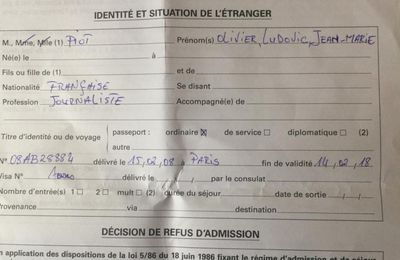 #Gabon / Ali Bongo refoule du Diplo ! (#RSFMonAmour)