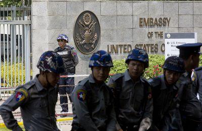 Urgent. Une explosion à l'ambassade US en Birmanie