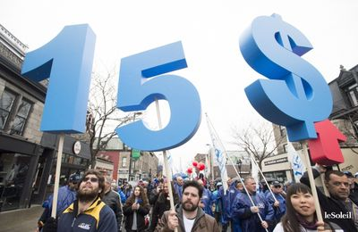 Quebec: le salaire minimum à 15 $