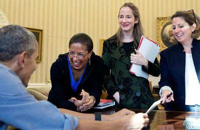 À la Maison-Blanche, les femmes ont un stratagème unique pour se faire entendre en réunion
