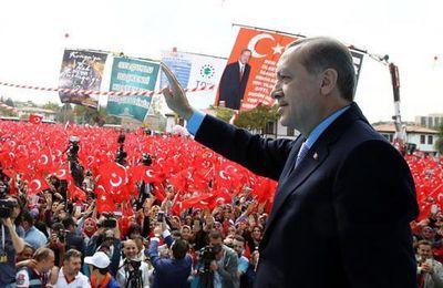 """Erdogan : """"Tout le monde connaitra les forces de sécurité de notre nation"""""""