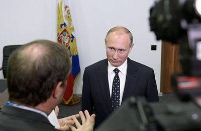 Ce que Poutine a dit à TF1 et ce que la chaîne a préféré taire