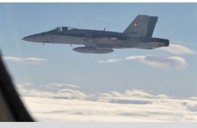 Suisse. Des F/A-18 escortent un avion russe, Moscou réagit