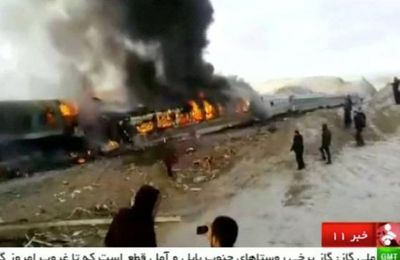 Accident de train en Iran : le bilan grimpe à 44 morts