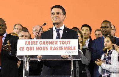 Manuel Valls démissionne du poste de premier ministre
