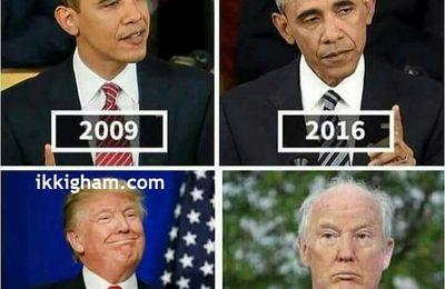 Les présidents vieillissent-ils plus vite que nous?