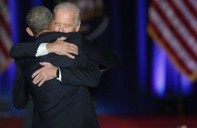 La tendresse unique de l'amitié entre Joe Biden et Barack Obama