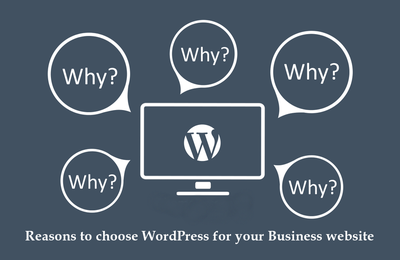 4 Reasons to choose WordPress for your Business website