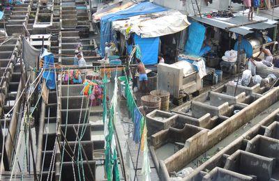 Dhobi Ghat, la laverie géante en plein air