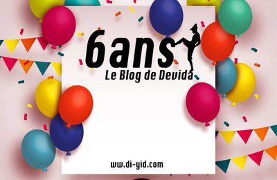 Le Blog de Devida : 6 ans déjà