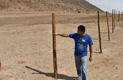 Ancient Peruvian Site Damaged