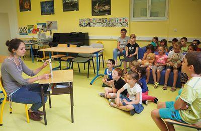 Journée kamischibaï et dessins à l'école Chantereine