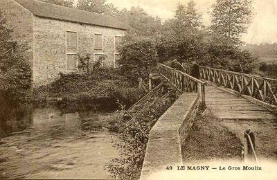 Le Magny cartes postales anciennes
