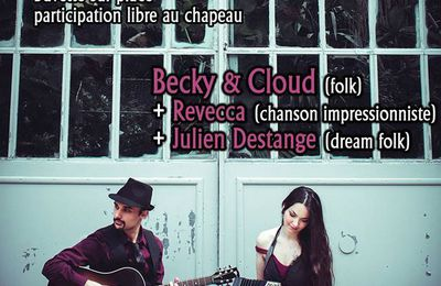 Concert sous Coeur de Yourte de Becky and Cloud