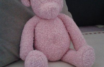 ...Un Teddy tout rose...