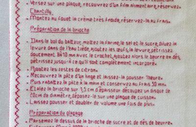 Livre Recettes Brodées de Mamigoz: La Tropézienne...suite