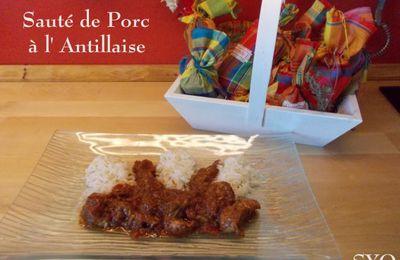 Le Sauté de porc à l' Antillaise du Petit Bistro.
