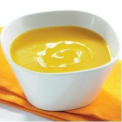 Velouté de potiron, st Moret au curry
