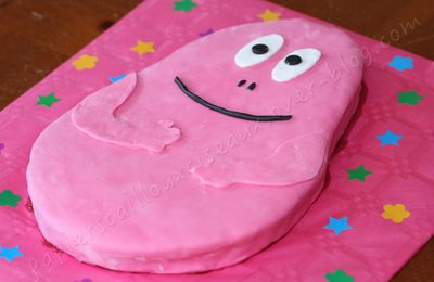 Gâteau d'anniversaire: Barbapapa
