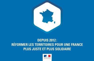 Depuis 2012 : réformer les territoires pour une France plus juste et plus solidaire