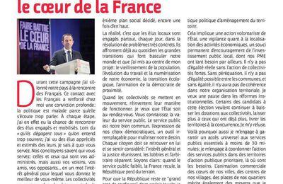 La Lettre des élus socialistes et républicains N°302 - ENSEMBLE FAISONS BATTRE LE COEUR DE LA FRANCE