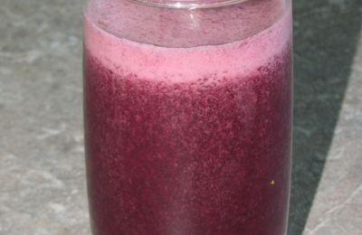 Smoothie blackberry