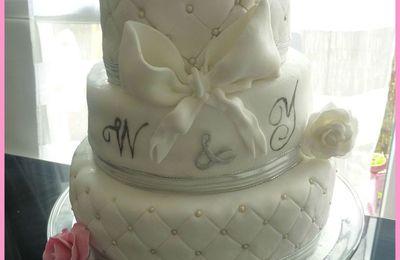 Wedding cake - Gâteau de fiançailles