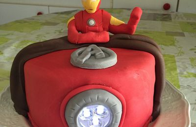 gateau Iron Man