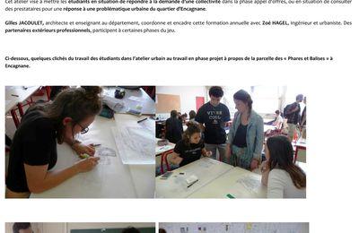 IUT GU  : la zone des Phares et Balises imaginée par les étudiants