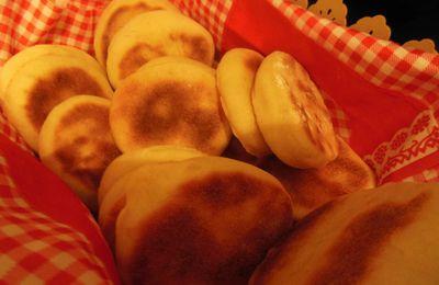 Petits pains batbouts