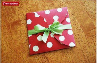 4 cercles pour une enveloppe (tutoriel gratuit - DIY)