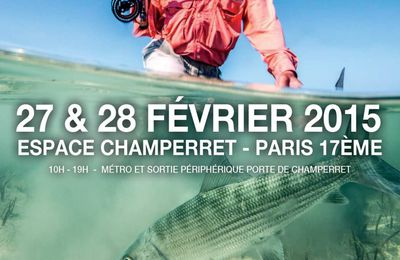 PARIS FLY FISHING SHOW !