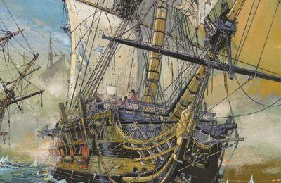 Les Grandes batailles navales, par Jean-Yves Delitte et Denis Bechu